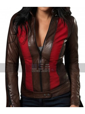 Blade Trinity Abigail Whistler (Jessica Biel) Leather Jacket